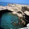 Grotta della poesia, 120km far the house. one of the ten best natural pool in the world