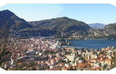 view of Como (not from our home)