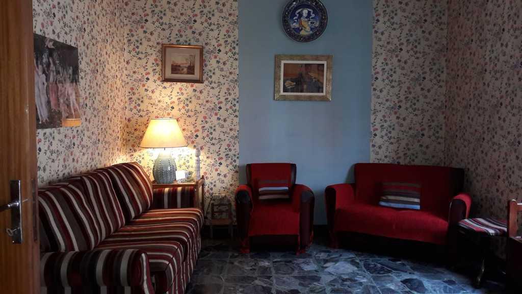 Il soggiorno con i divani