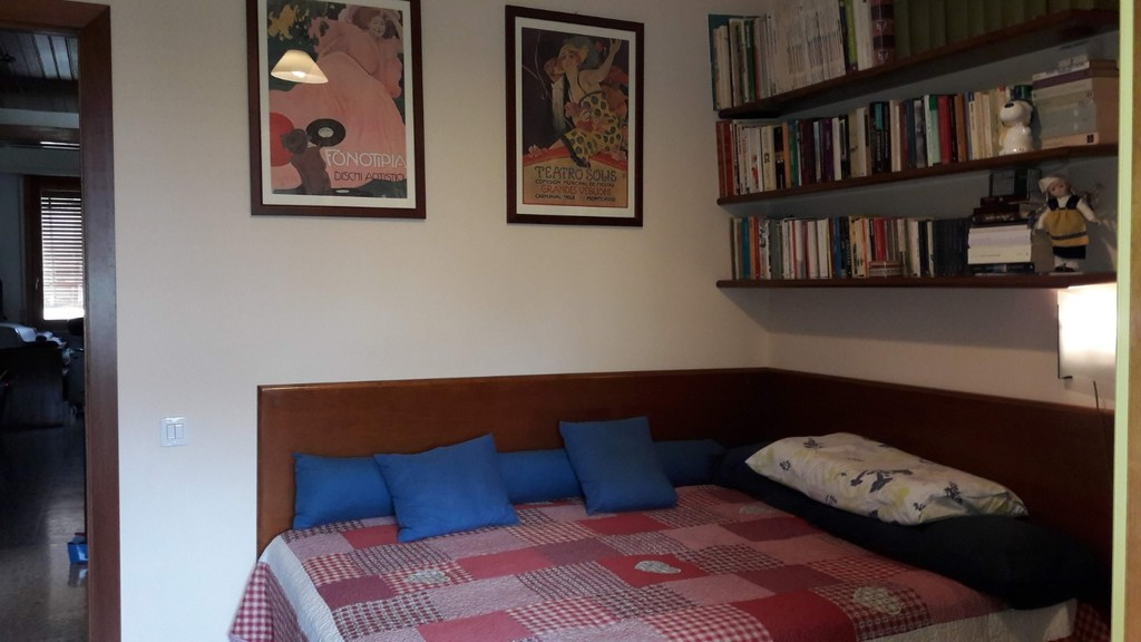 La seconda camera col letto ad una piazza e mezza