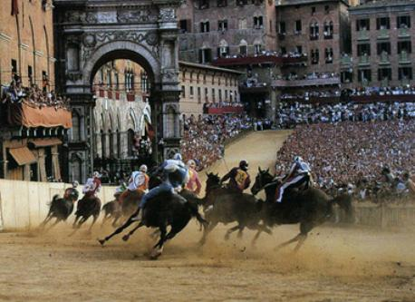 Palio of Siena (July and August)