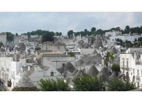 Surroundings: Alberobello