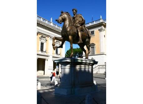 Roma: Campidoglio, Statua di Marco Aurelio