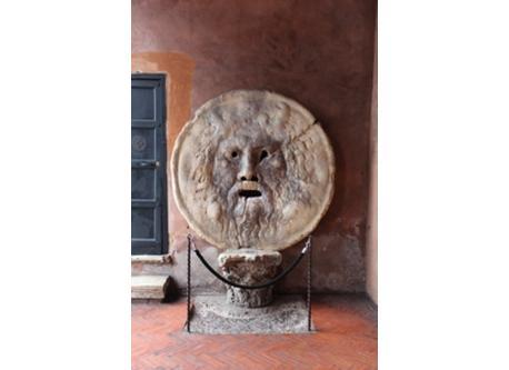 Roma: Santa Maria in Cosmedine, Bocca della Verità
