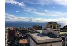 view from the terrace with Capri Island