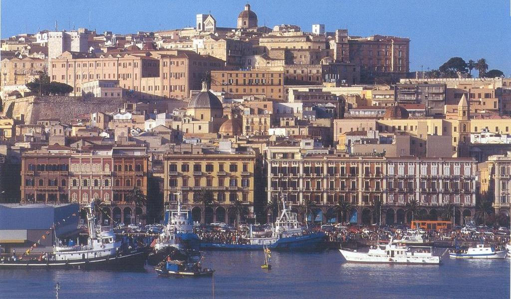 Cagliari (view from the port)