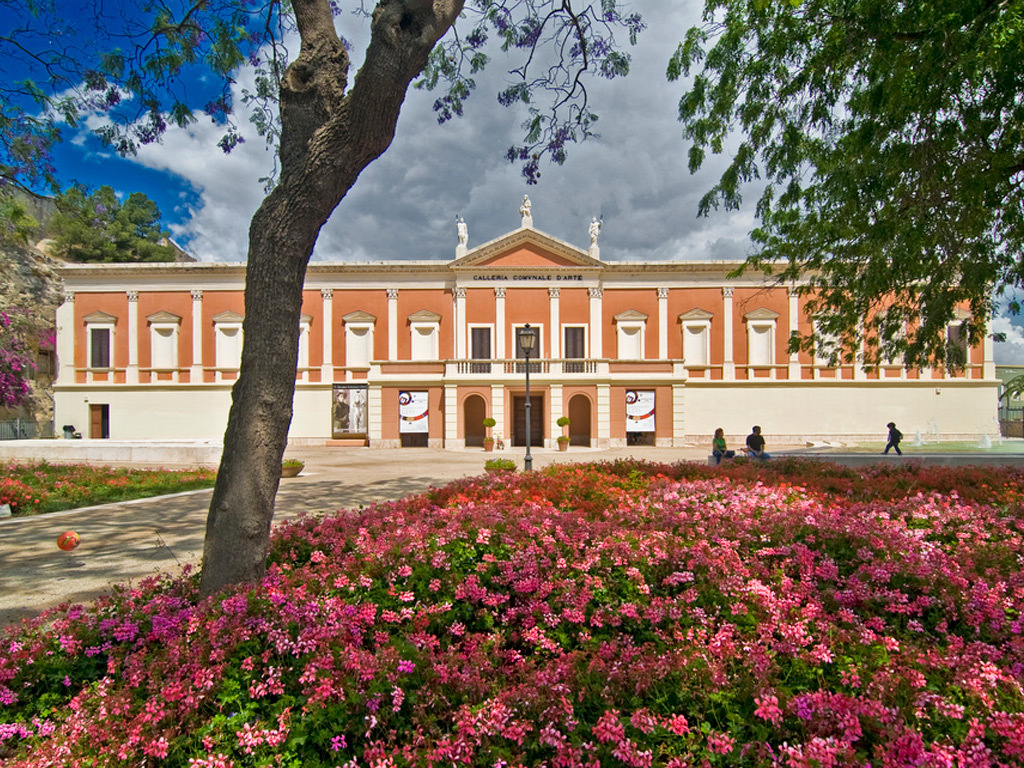 Galleria Comunale e Giardini Pubblici Cagliari