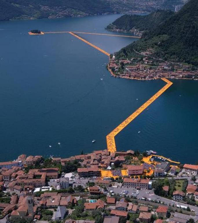 The Floating Piers by Christo, June/July 2016