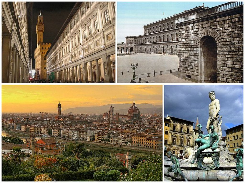 50 minuts to Florence by car or train