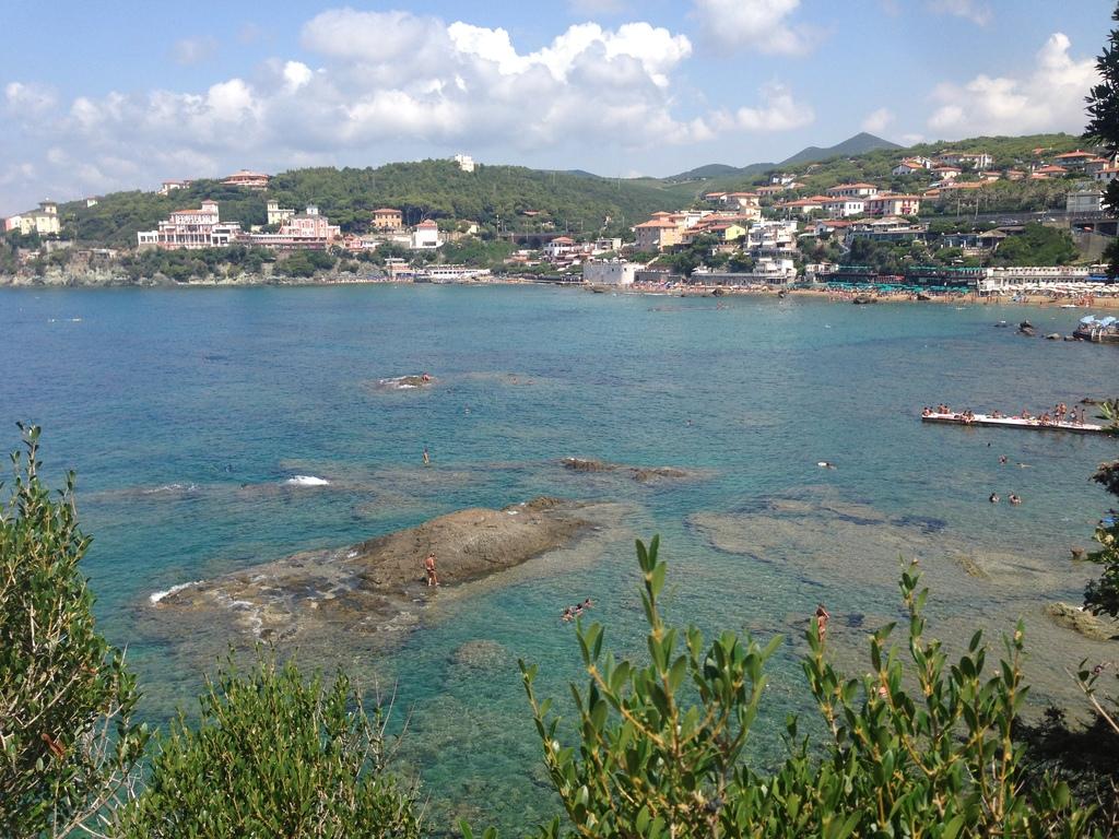 Castiglioncello coast