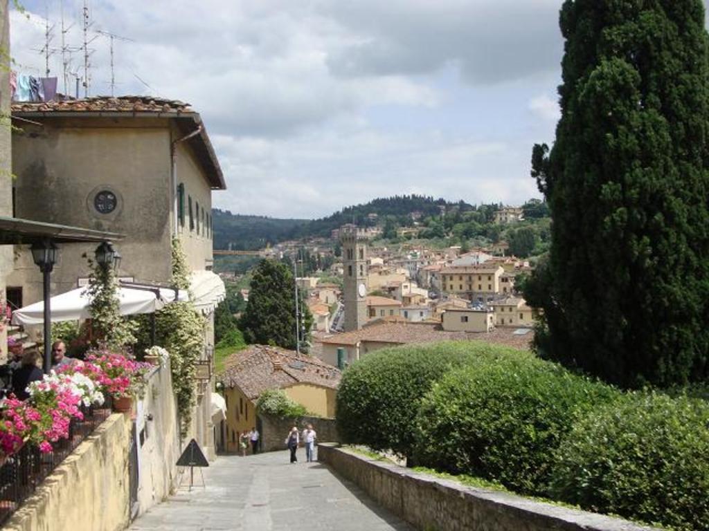 streets in the near Fiesole