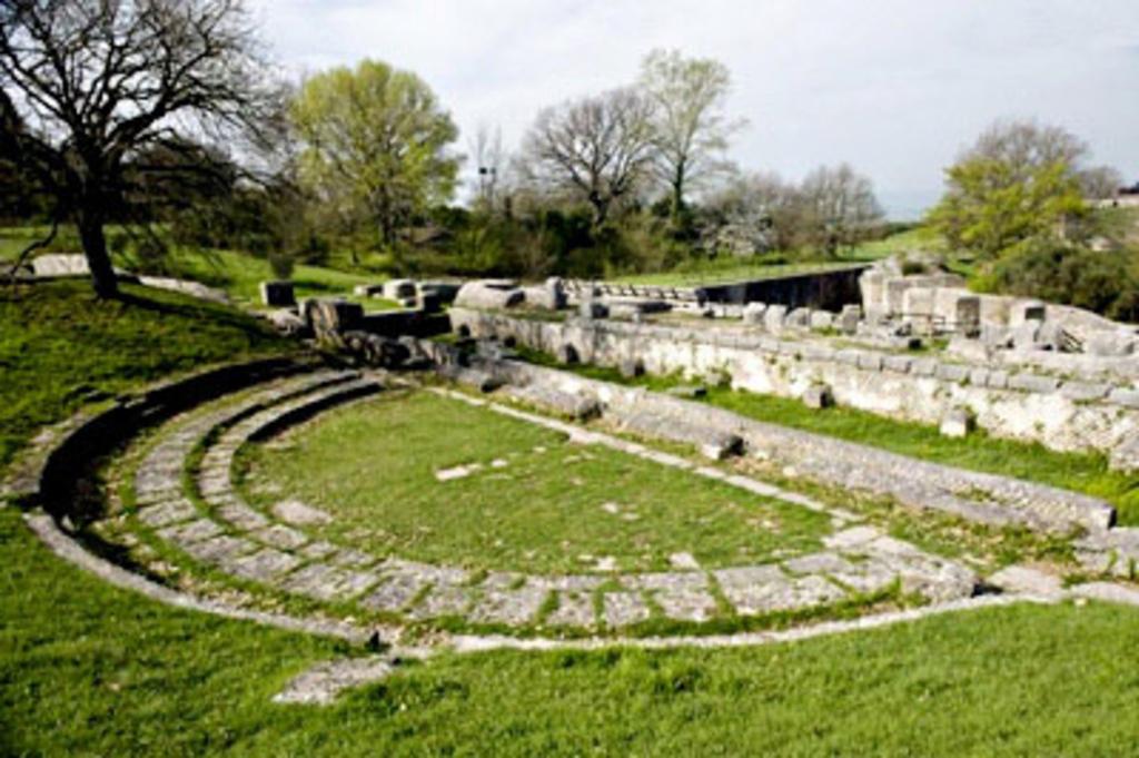 "Terni - Ancient Roman site ""Carsulae"""