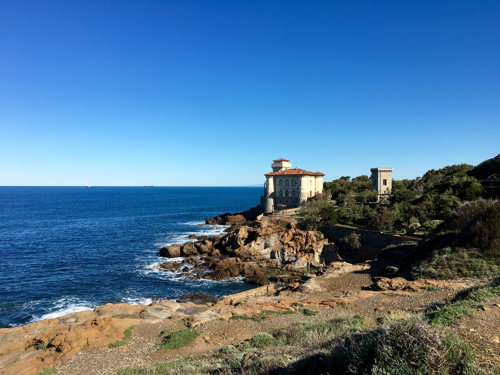 Boccale Castle, a few kilometers south Livorno