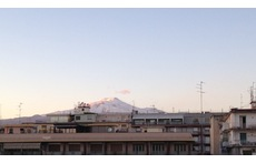 in view of the Etna volcano