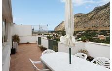 terrazza panoramica sul mare