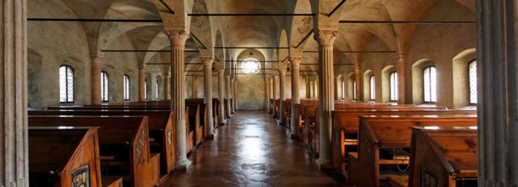 Biblioteca Malatestiana di Cesena, in auto raggiungibile in 35 min (20 min treno)