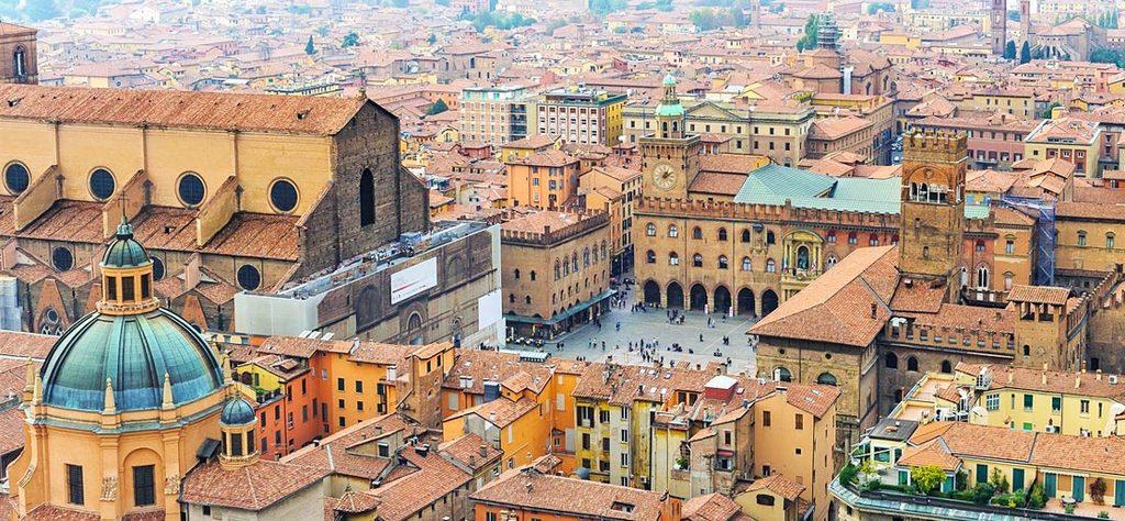 Bologna, in auto raggiungibile in 55 min (1h 15min treno)
