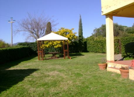 The garden area. No gazebo up to date