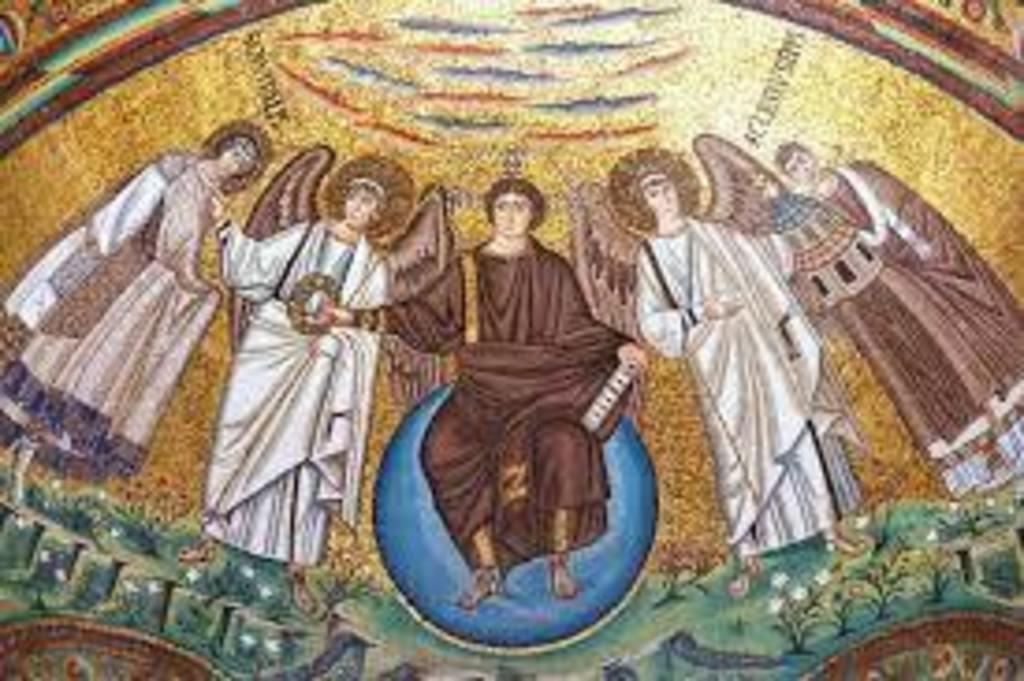 byzantine mosaics of San Vitale basilica