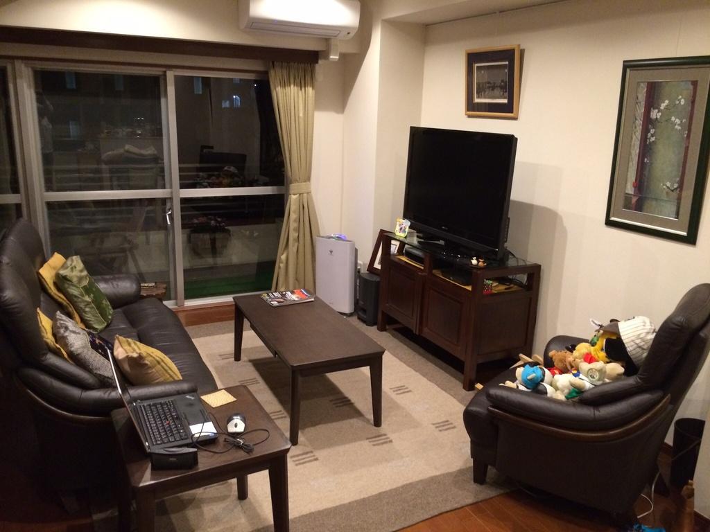 42 inch LED 3D TV, Bose sound system, DVR, Apple TV