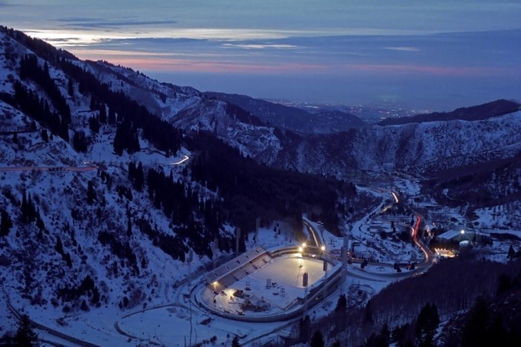 MEDEO ski ring (15 km from Almaty)