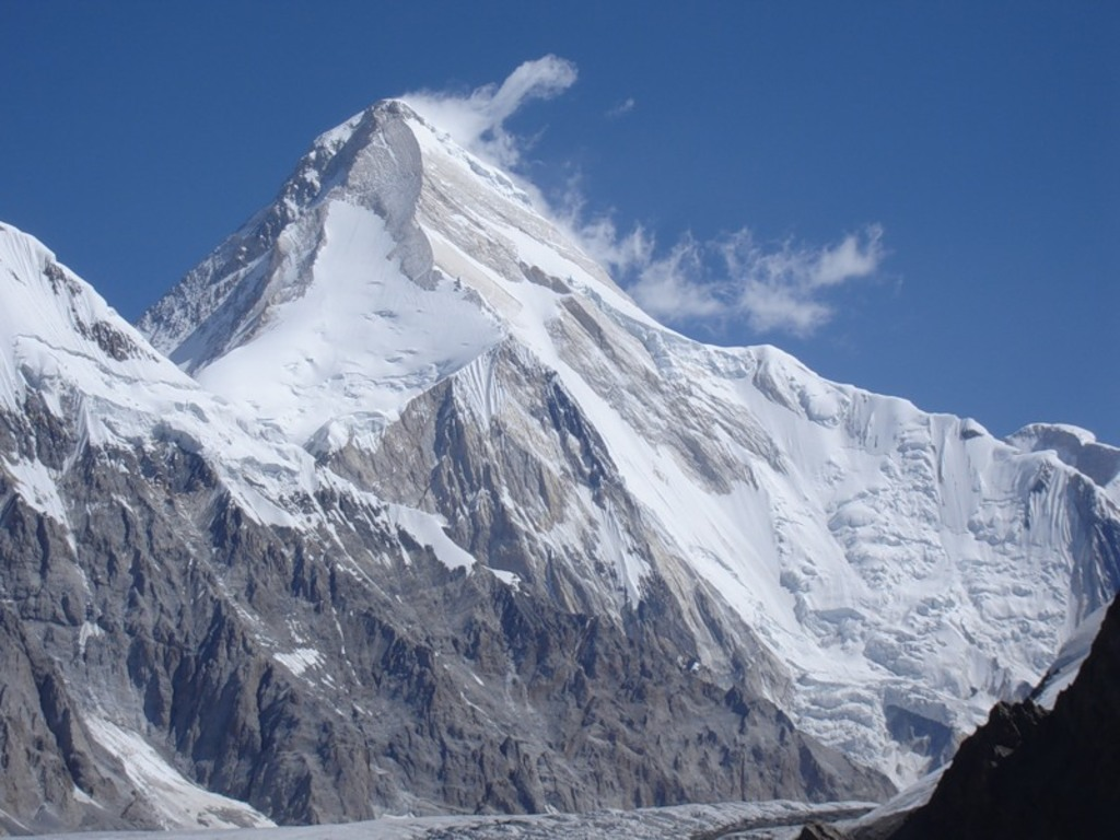 Khan-Tengri mountain (7010m)