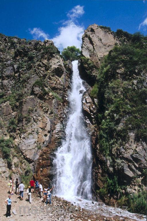 Turgen waterfall 80km from Almaty