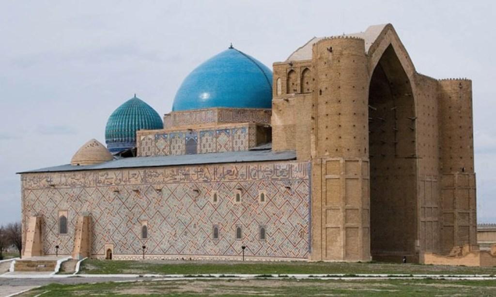 Khoja Ahmed Yasawi Mausoleum in Kazakhstan