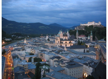 Salzburg, close to the Alps and many lakes
