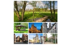 Medieval city in green surroundings!