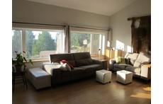 Salon bien éclairé. Well lighted living room. Gut beleuchtetes Wohnzimmer