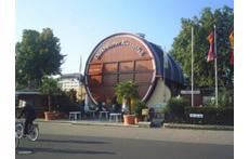 Biggest barrel of the world in Bad Dürkheim