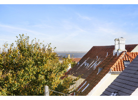 Sea view to Øresund and Sweden from rooftop terrace