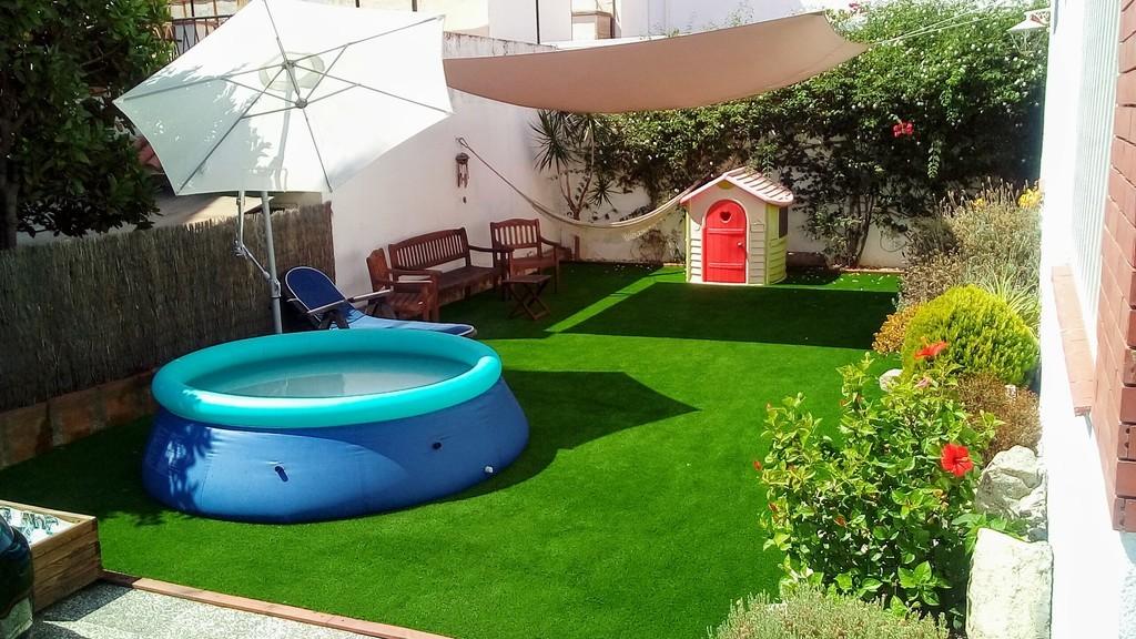 Garden / Jardín de 100m2