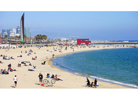 Barcelona`s Beaches, 15 minutes walking !
