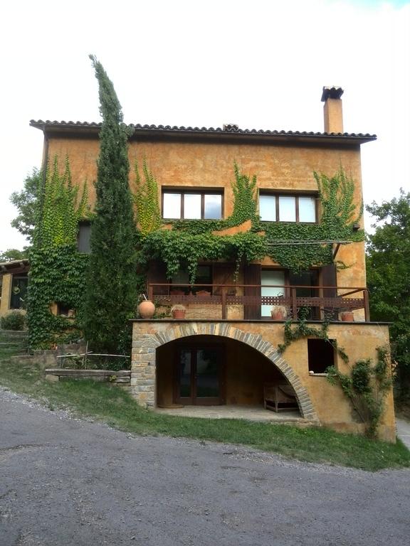 """Vista frontal de la casa """"La Solana"""""""