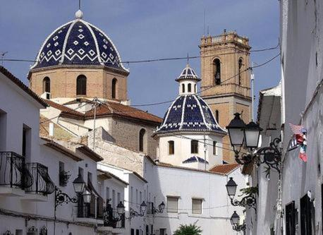 Altea´s church.