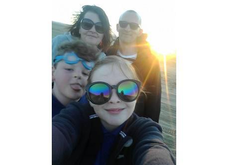 Lynda, Mark, Emma & Sean
