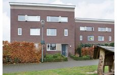 Our house in Nijmegen Lent (green door)
