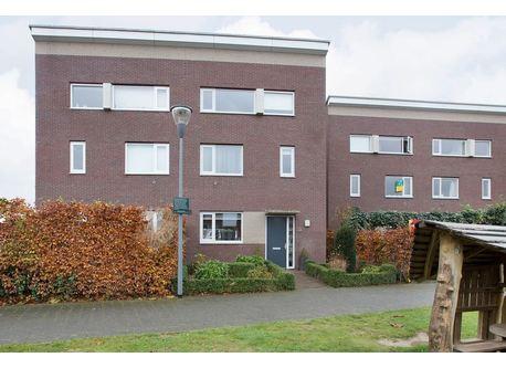 Our house in Nijmegen Lent (green door)
