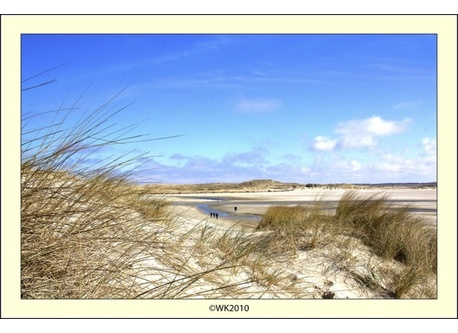 the dunes of Texel are national park.