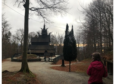 Fantoft stave church - 100 m from our house