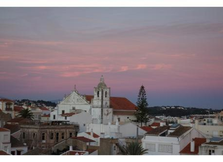 View from the terrace/ Iglesia de San Sebastian/