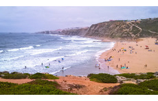 Mafra West Coast (Ericeira Beach), Atlantic Ocean, Portugal