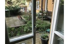 Entrance to the backyard