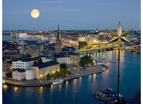 Just 10 minustes from city center of Stockholm