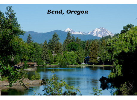Bend is a land of rivers, lakes, evergreen forests and snow-capped peaks, and our comfortable home is right in the middle of it