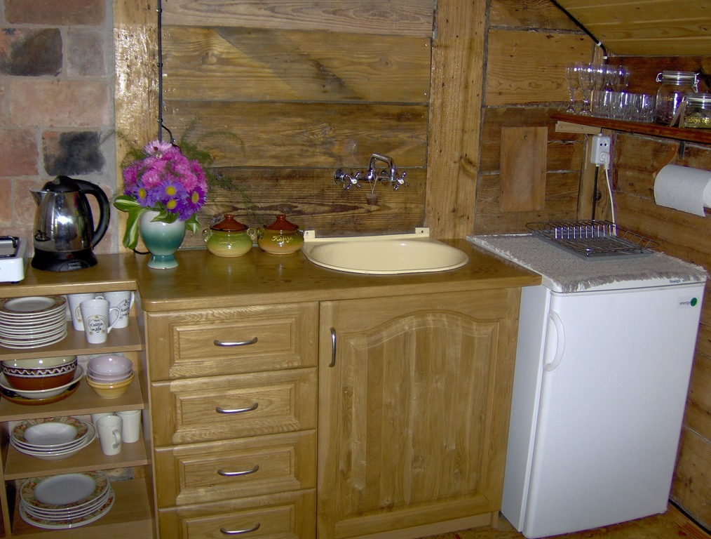 Kitchenette in Kaleja maja