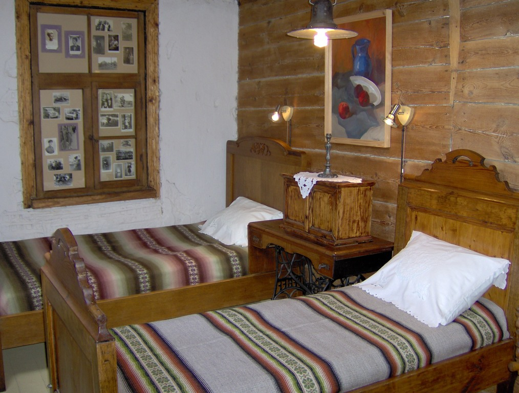 Romantic bedroom in Kaleja maja