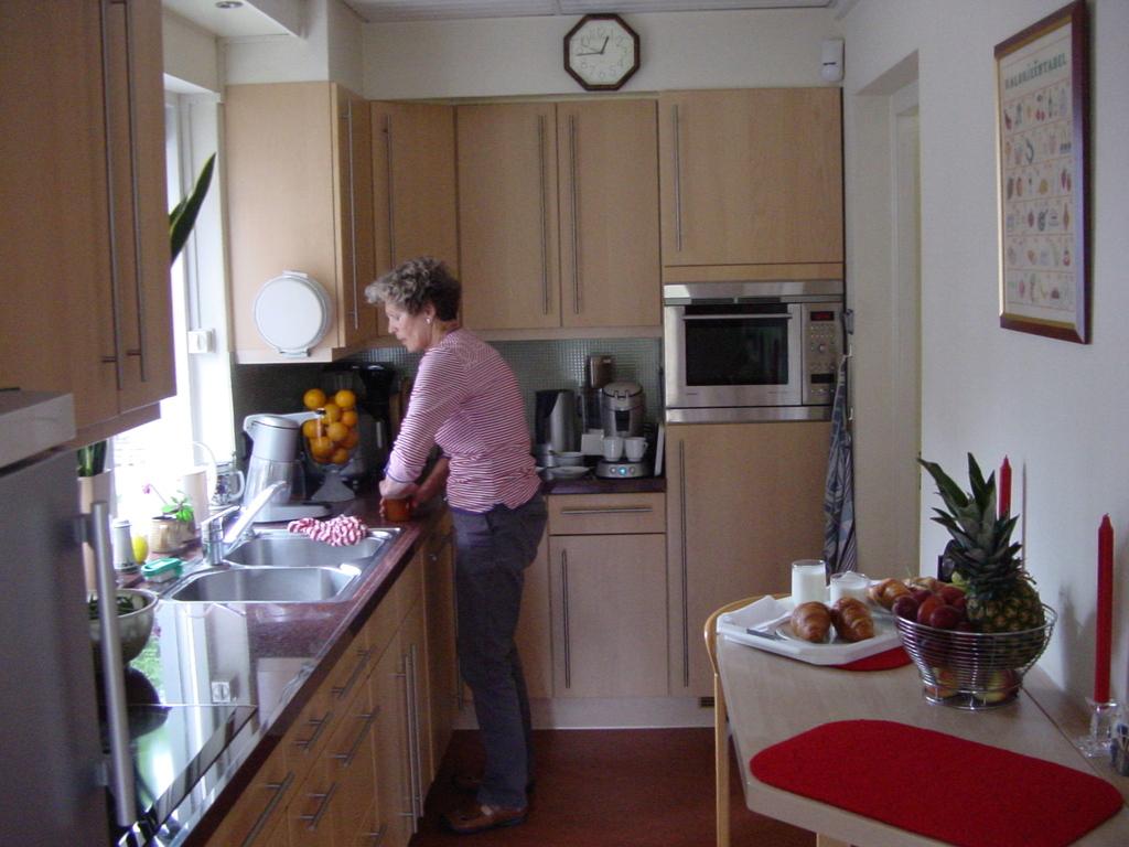 Willemien in the kitchen
